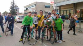 Ciclistica Santerno Fabbi Imola,prima di stagione con Pinardi in piazza d'onore