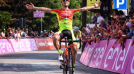 Giro U23: Francesco Romano rompe il digiuno italiano