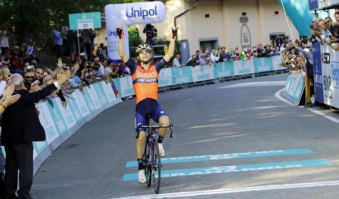 Giovanni Visconti conquista il Giro dell'Emilia