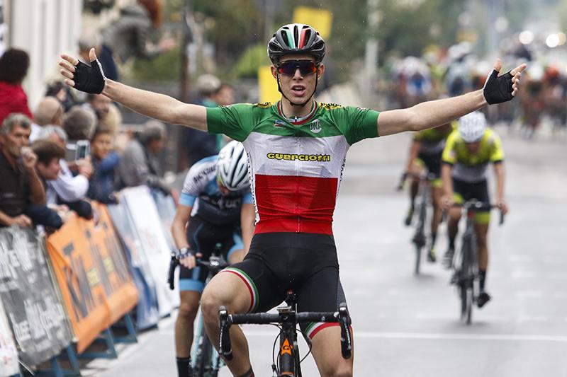 Il campione italiano Acco vince le Valli Aretine