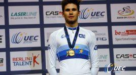 Europei pista: Filippo Ganna trionfa nell'inseguimento