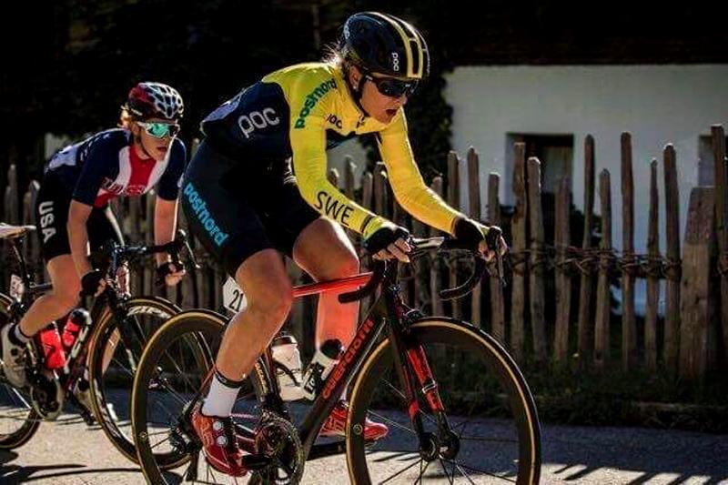 Caroline Andersson: parla svedese il nuovo talento del team pratese