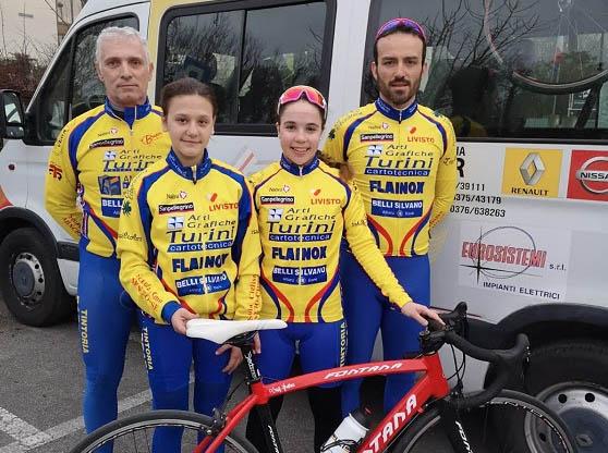 Ciclismo Mincio Chiese-Inizio di stagione con la nuova squadra femminile