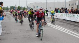 Carola Ratti allo sprint davanti a Roda e Venturelli