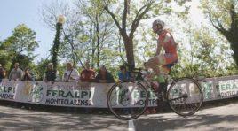 Simone Gualdi sprint ristretto a Montichiari
