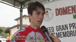 Edoardo Cipollini supera allo sprint Myles Corey Porcelli