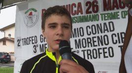 Federico Cozzani ottiene allo sprint  il quinto successo stagionale
