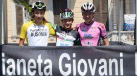 Matteo Falchetti sprint vincente a Breno