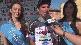 Andrea Toniatti  allunga nel finale e conquista il successo nel Trofeo Matteotti