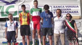 Andrea Violato veste il Tricolore a quasi quarantasette di media