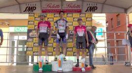 Manuele Tarozzi si impone nel 39° Piccolo Giro dell'Emilia