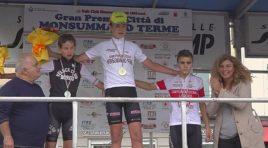Sprint vincente di Damiano Petri a Monsummano